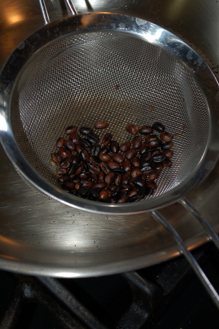 Roasted HomeGrown Coffee Beans 5-7-17 DSC_0764